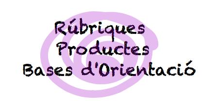 Rúbriques i productes