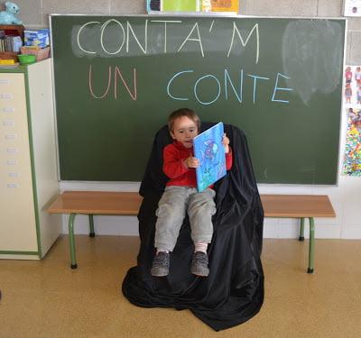 Un alumne de l´escola de Sant Climent conta EL PEIX IRISAT