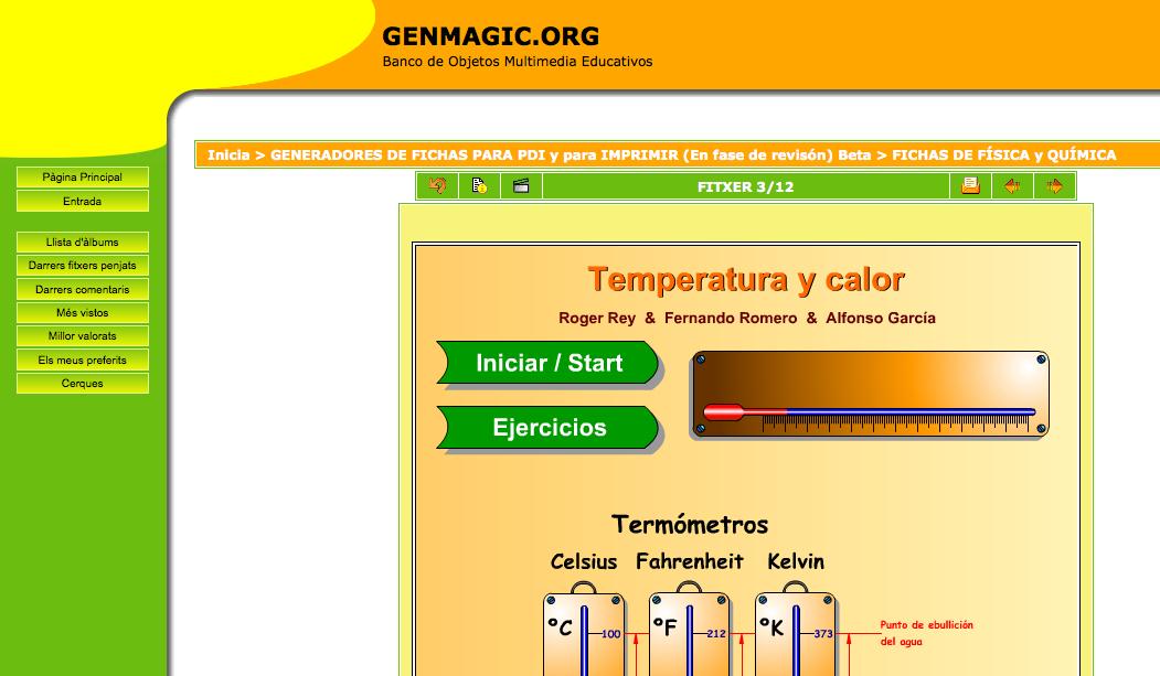 Genmagic fisica i quimica