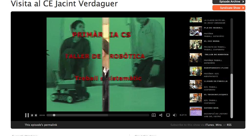 Taller robòtica Jacint Verdaguer